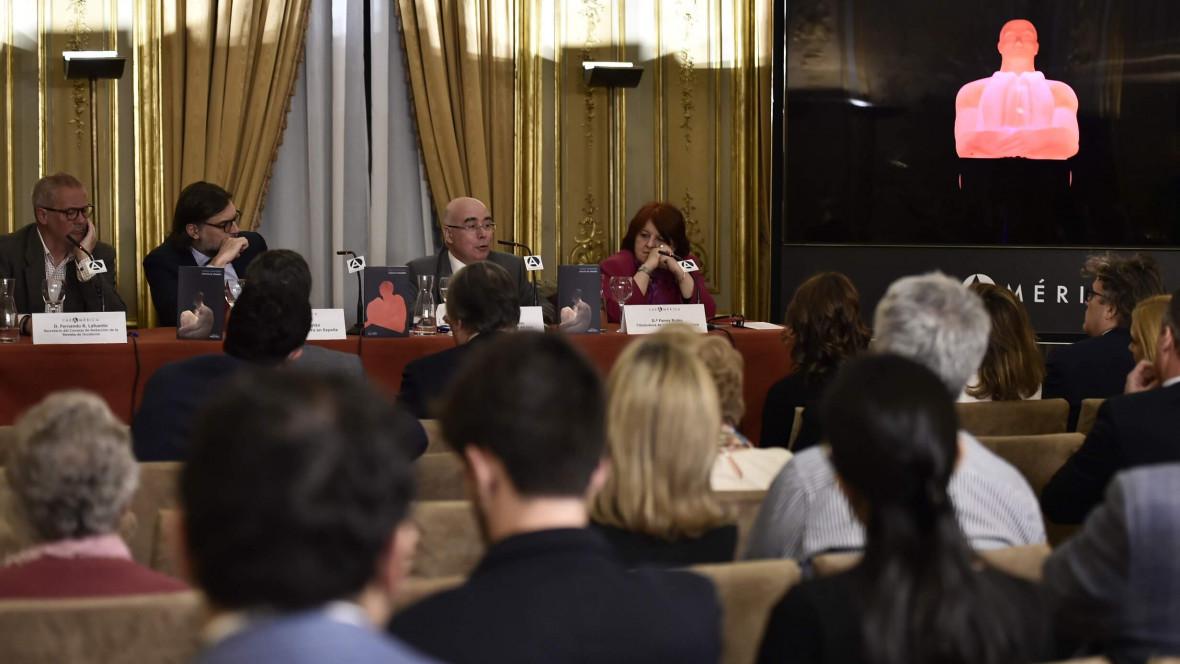 Presentación de Estilitas de Andorra en Andorra, Barcelona, Madrid y París