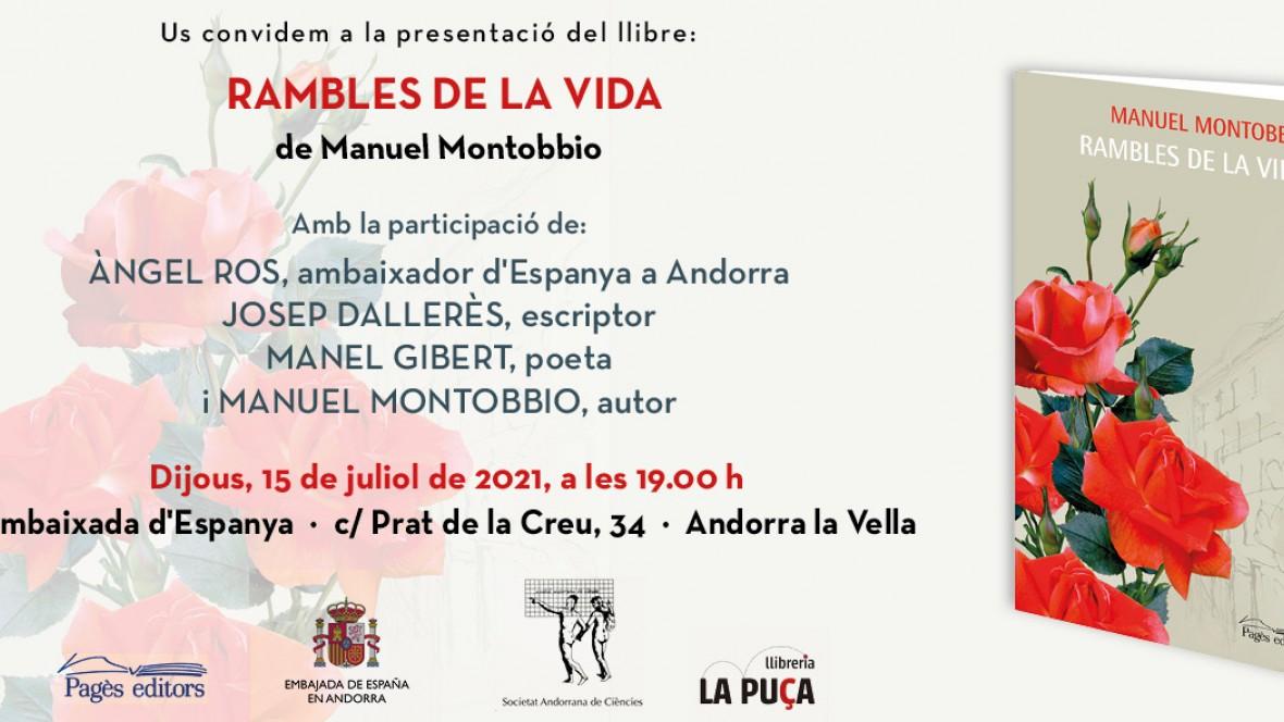 """LES """"RAMBLES DE LA VIDA"""" RAMBLEGEN PER LA VIDA"""